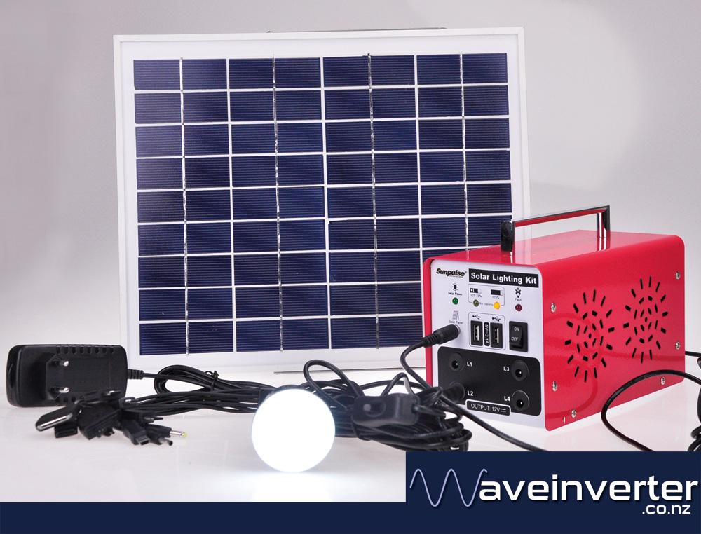 Sunpluse 20w All In One Solar Lighting System Waveinverter