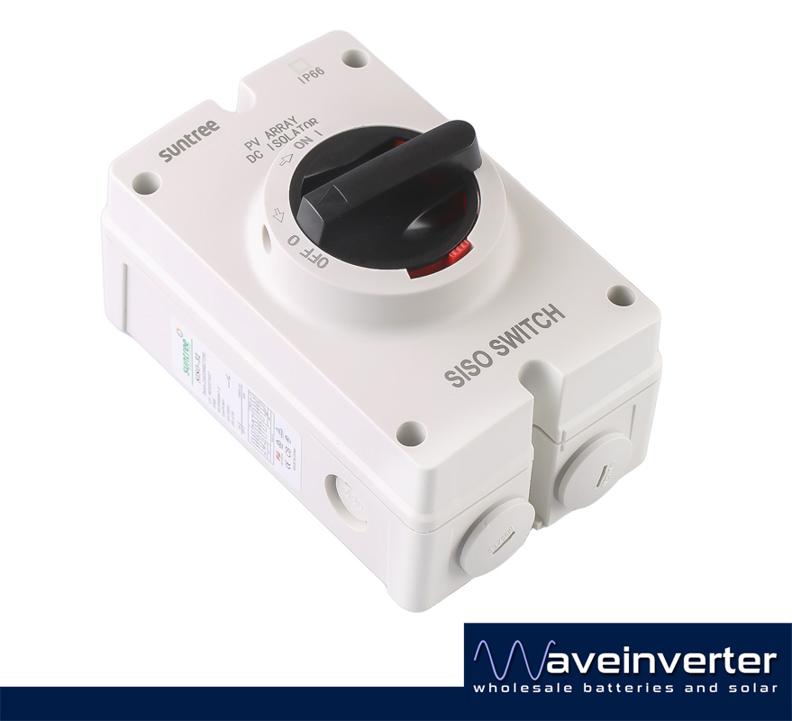 Pv Dc Isolator Switch 4 Pole  As  Nzs Certification   U2013 Wave