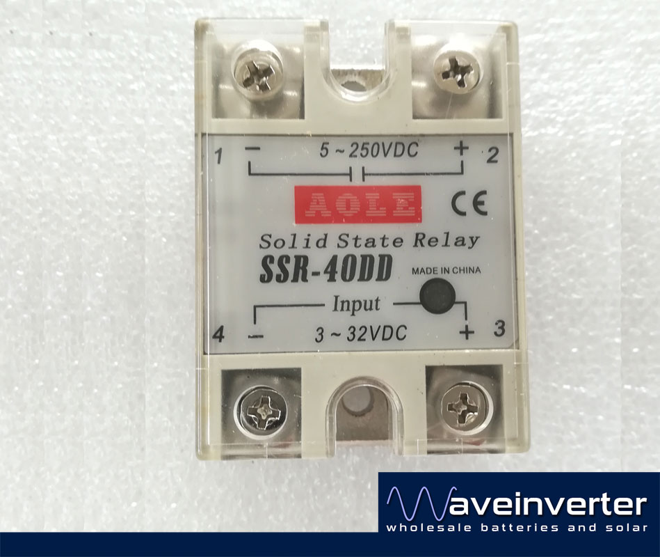 Solid State Relay for DC Power 40A